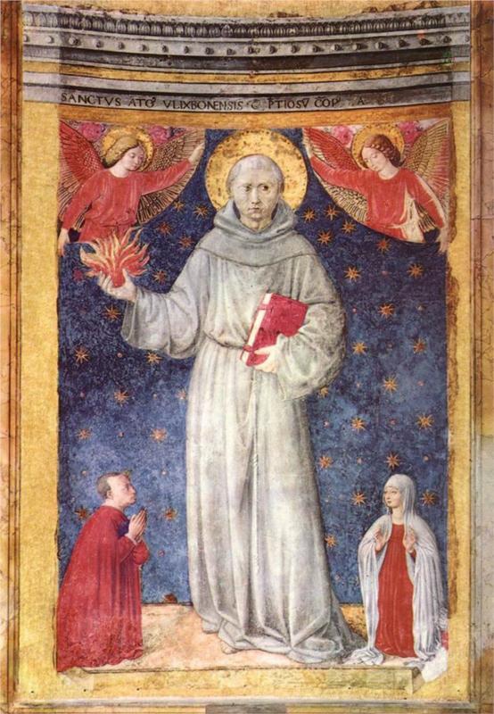 St. Anthony-Benozzo Gozzoli2